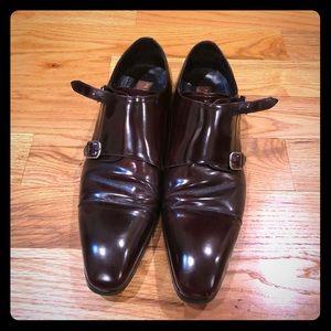 Mexlan brown buckle shoes